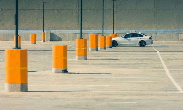 social distancing car parking